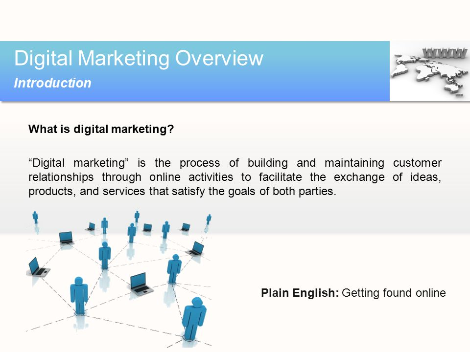 Agenda Digital marketing overview