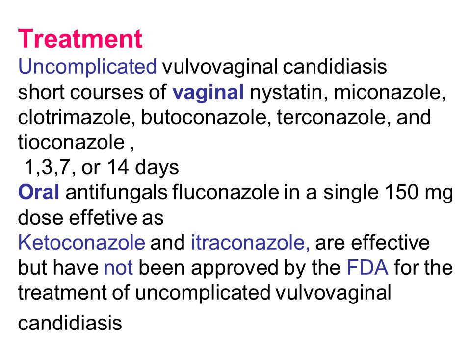 vaginal candida How to treat