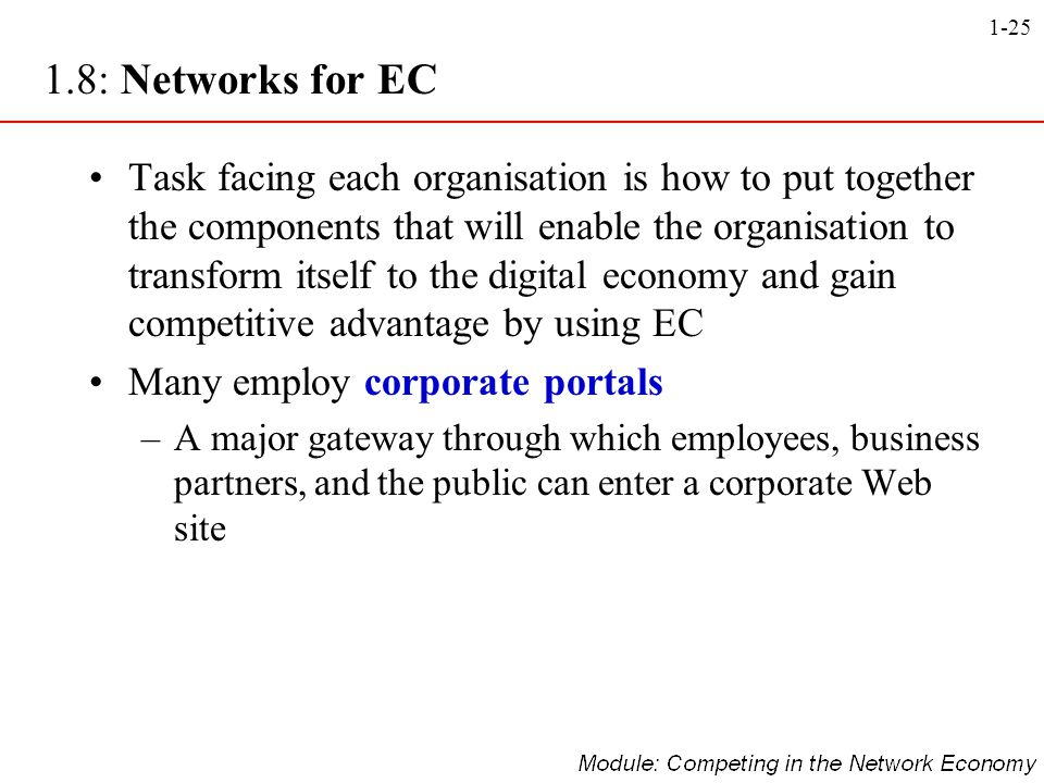 1.8: Networks for EC