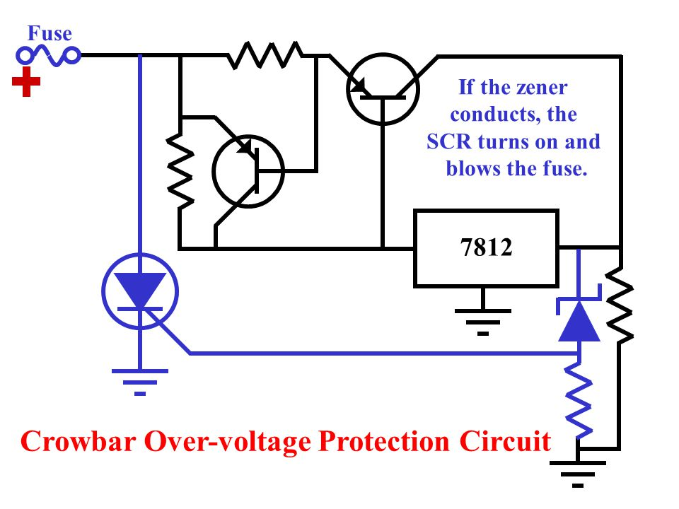 Crowbar Over-voltage Protection Circuit