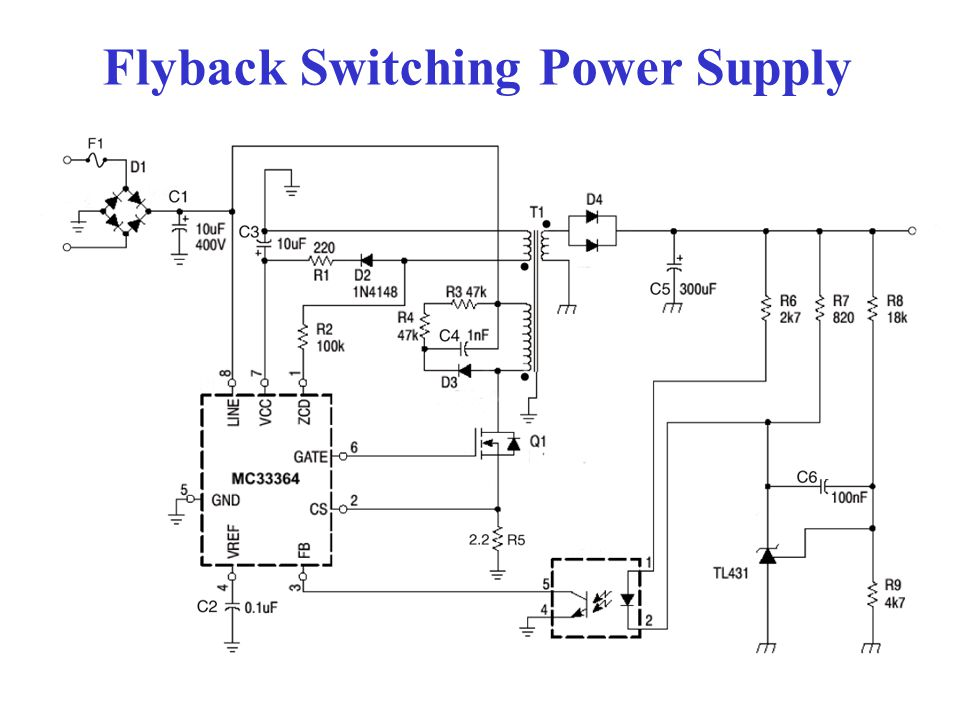 Flyback Switching Power Supply
