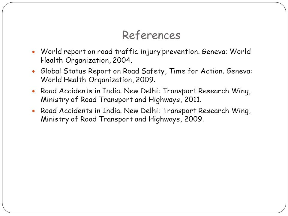 Epidemiology of Road Traffic Accidents - ppt video online download