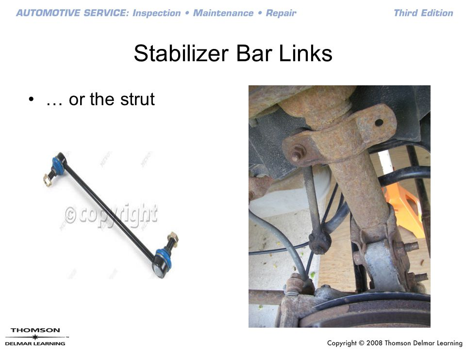 Stabilizer Bar Links … or the strut