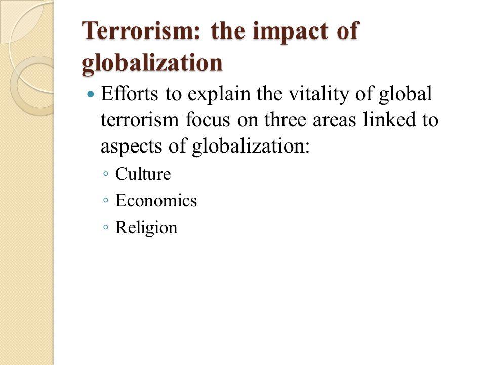 globalization terrorism