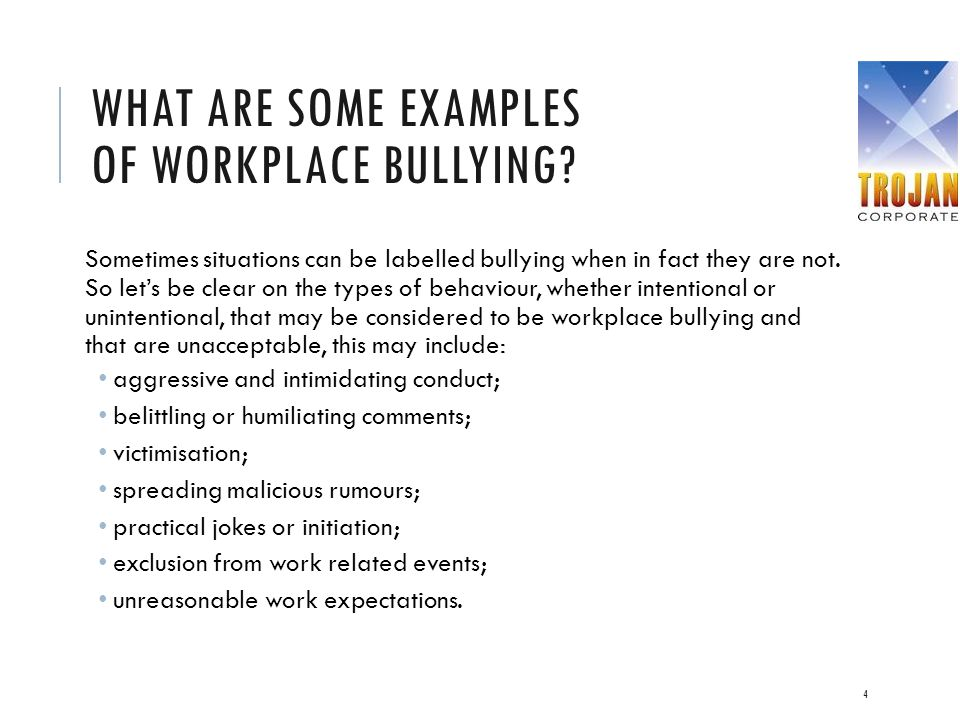 4 types of bullying pdf