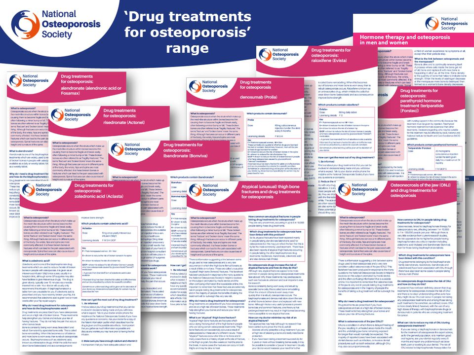 All about osteoporosis ppt download drug treatments for osteoporosis range publicscrutiny Gallery