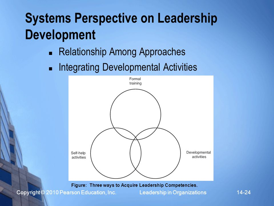 Systems Perspective on Leadership Development