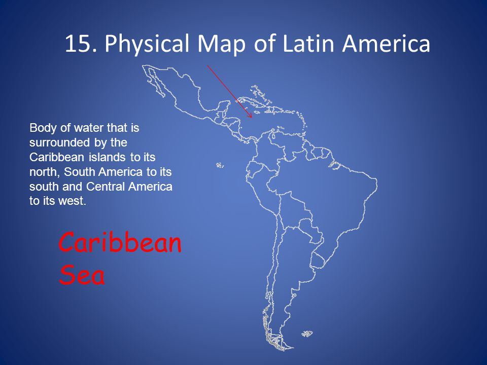 1. Political Map of Latin America - ppt video online download