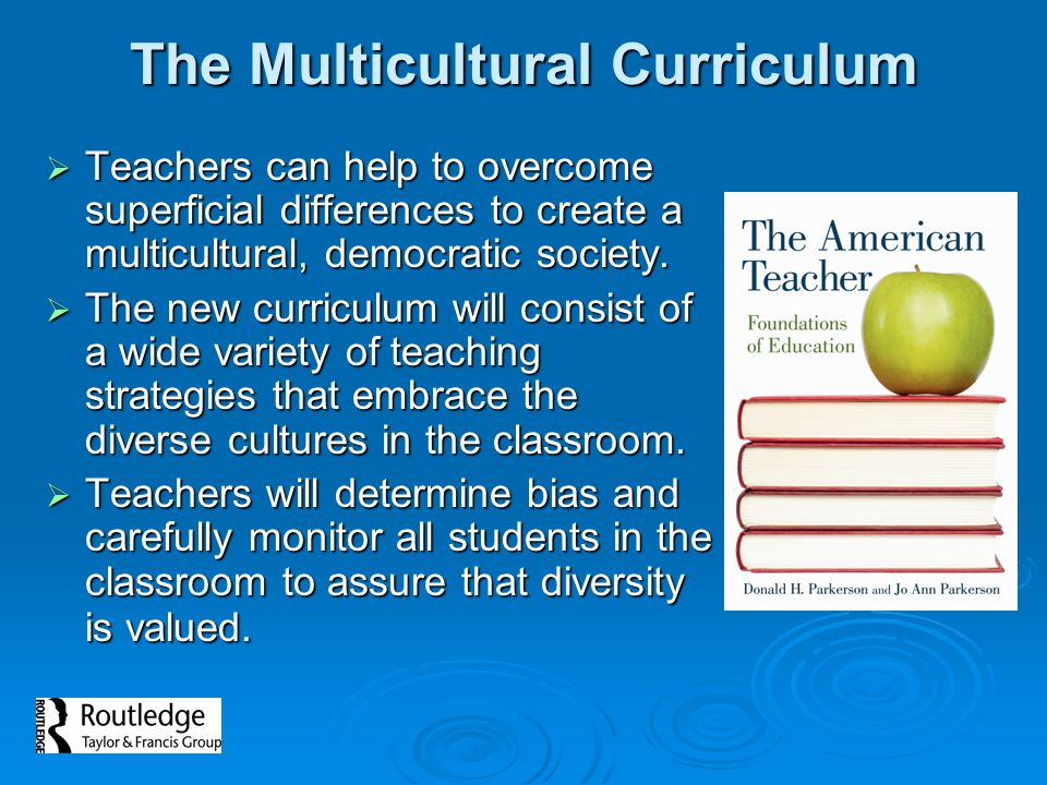 The Multicultural Curriculum