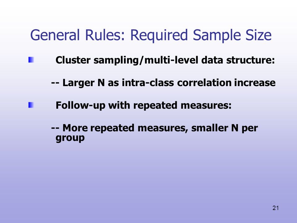 Power And Sample Size Analysis Ppt Video Online Download