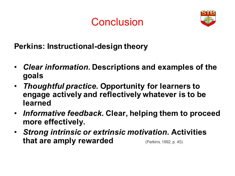 Outline What Is Instructional Design History Theories And Models