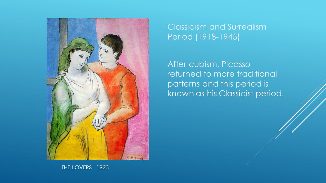 Classicism and Surrealism Period ( )