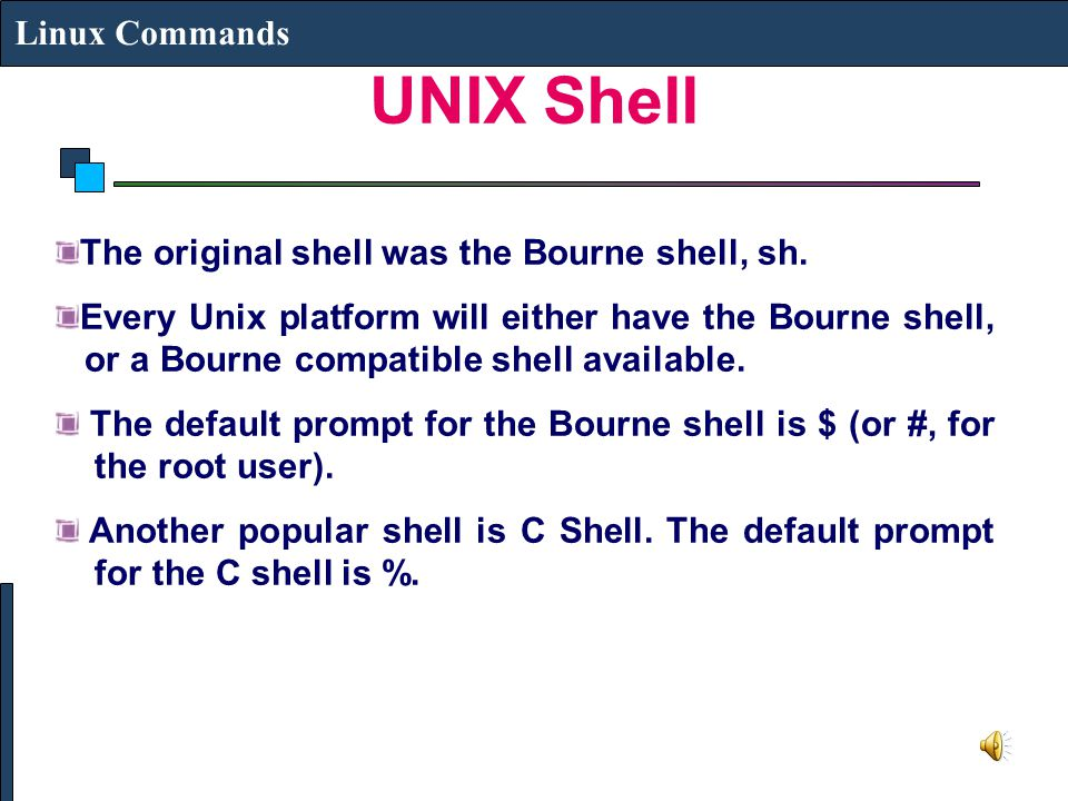 UNIX/LINUX OPERATING SYSTEM - ppt video online download