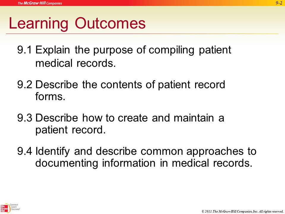 Maintaining Patient Records Ppt Download