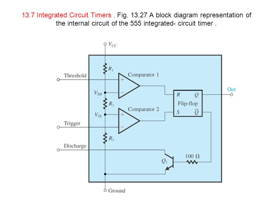 13. 7 Integrated Circuit Timers. Fig. 13