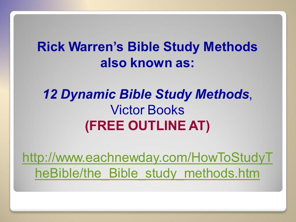 rick warren free pdf books