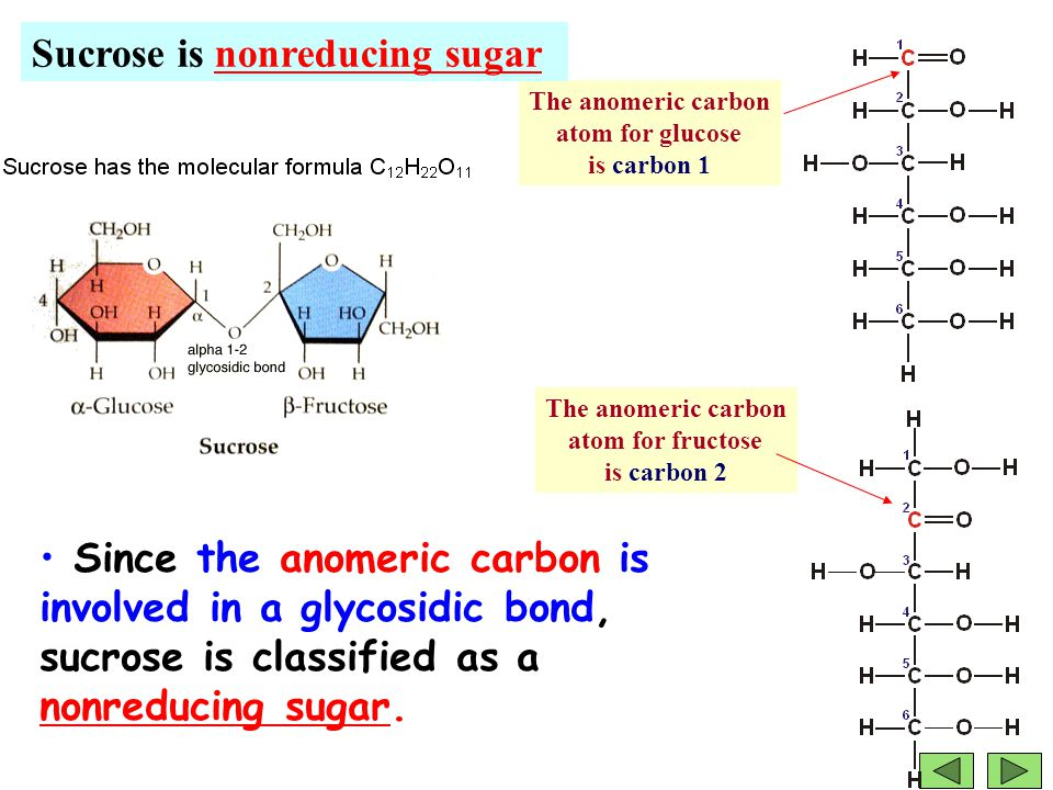 what is a non reducing sugar