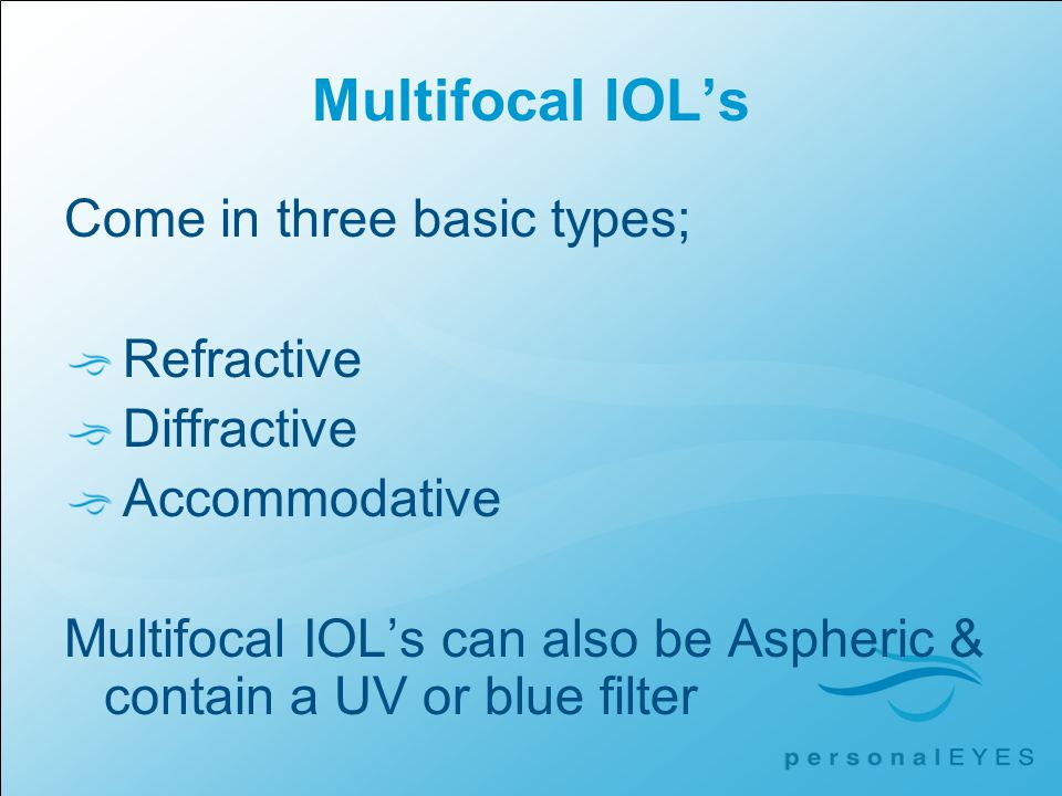 Accommodating iol ppt background