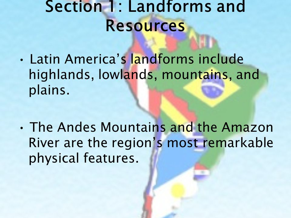 Physical Geography of Latin America: From the Andes to the Amazon ...