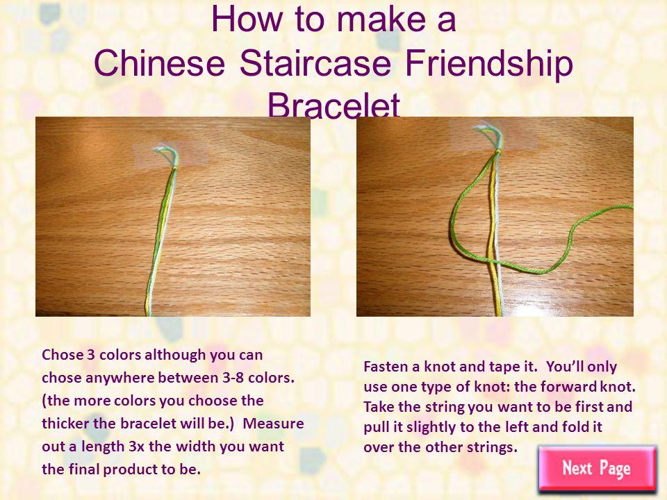 How To Make Friendship Bracelets Ppt Video Online Download