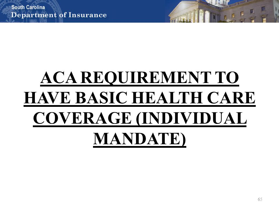 Health Insurance 101: ACA Overview, Update and Q&A South