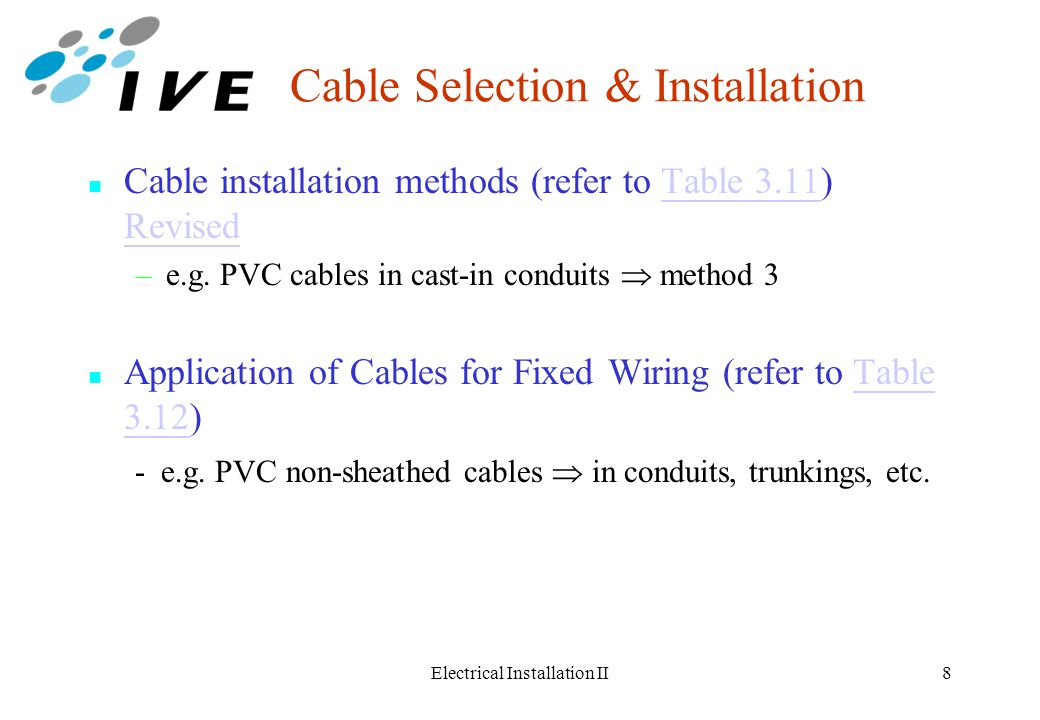 Phenomenal Electrical Installation Ii Ppt Download Wiring Cloud Xeiraioscosaoduqqnet
