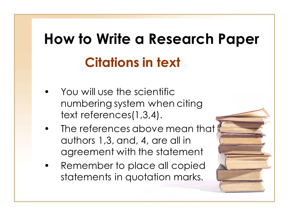 how to write a research paper quickly