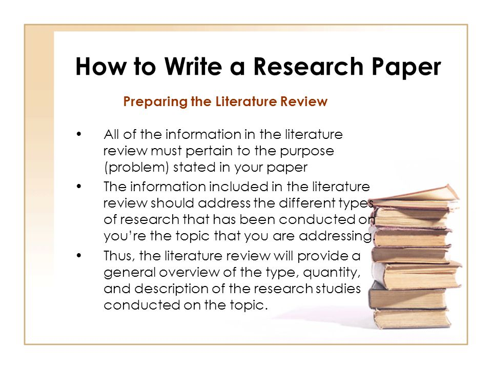 type of research papers