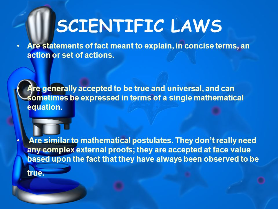 how are laws and theories similar