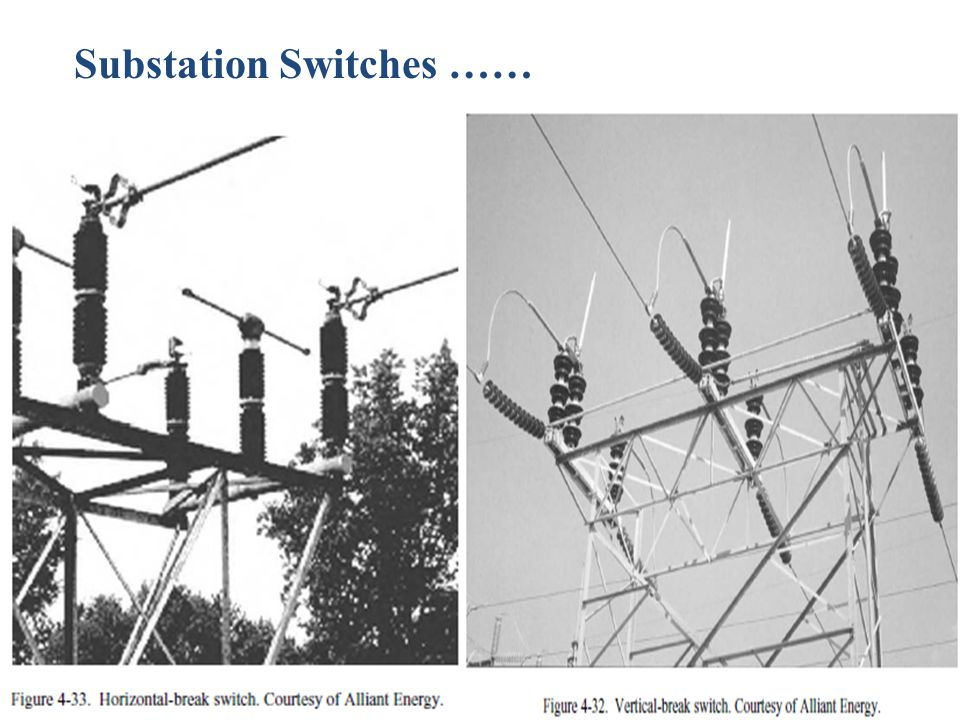 Substation Switches ……