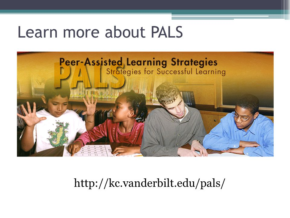 Learn more about PALS
