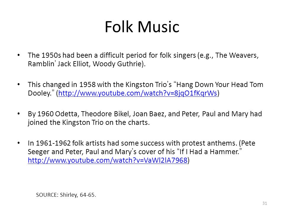 The History of Rock & Roll - ppt download
