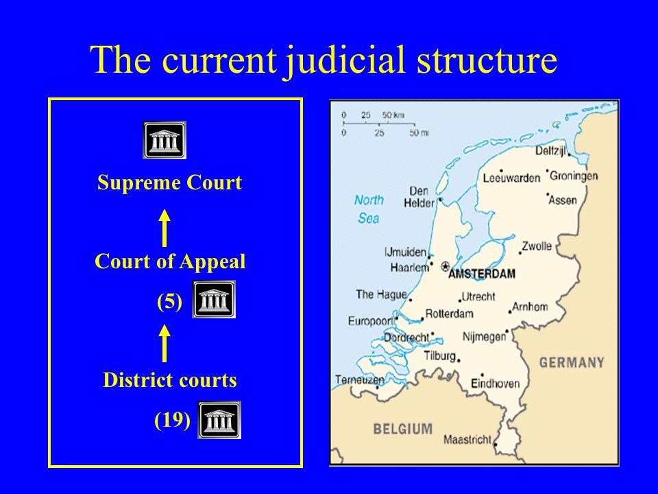 The current judicial structure