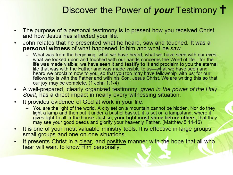 Preparing Your 3 Minute Testimony Ppt Download