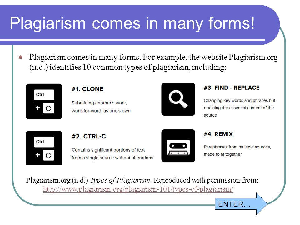 common types of plagiarism