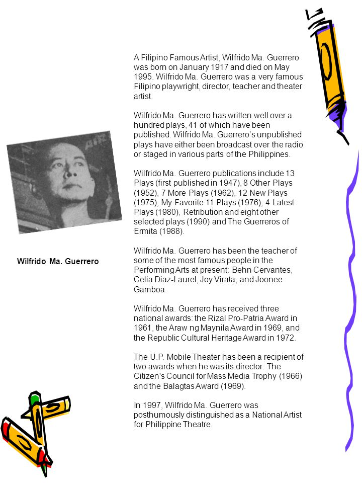 The Filipino Artists a research paper by Gabriel D  Maynigo