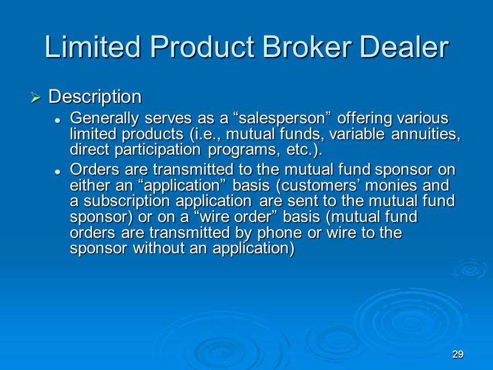 Broker Dealer Models. - ppt download