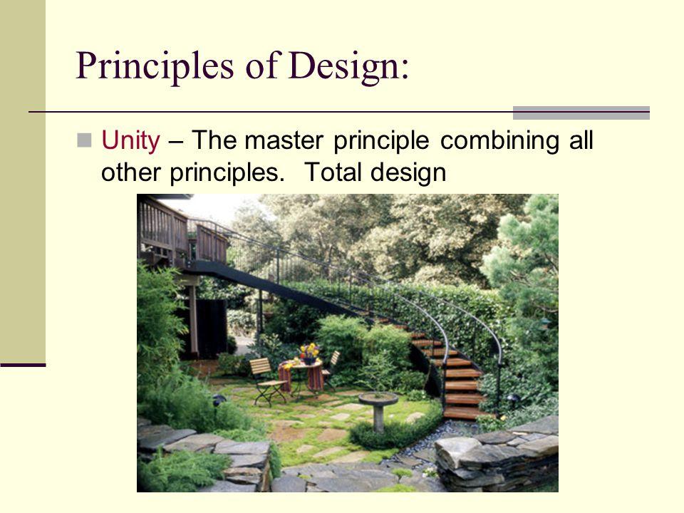 Design Landscape Remember Elements Principles Components