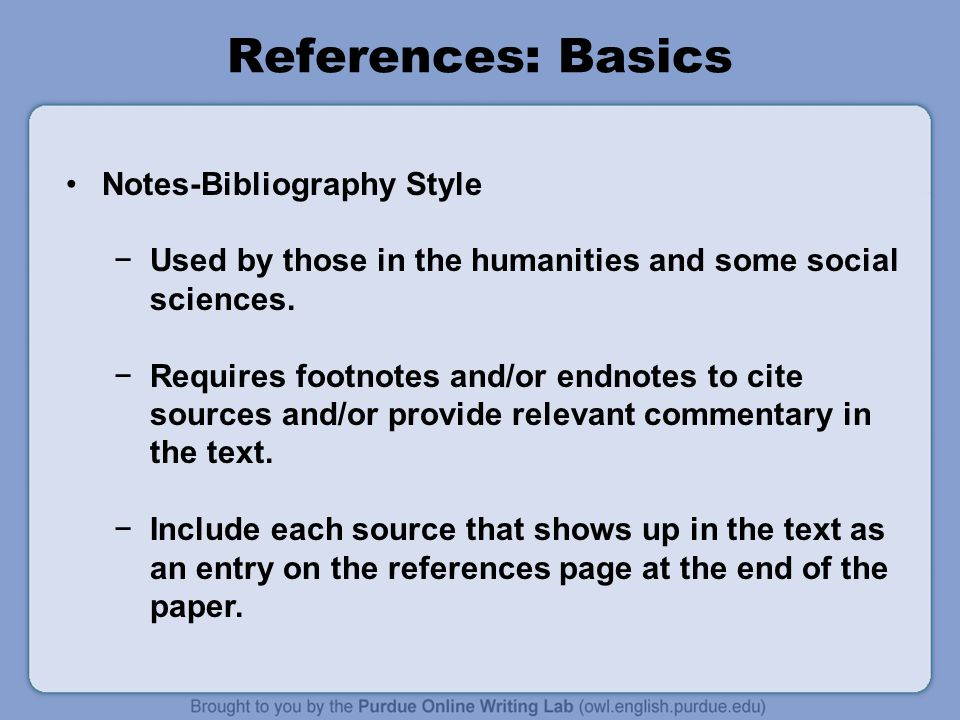 footnotes for online sources