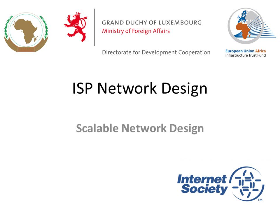 Scalable Network Design - ppt download