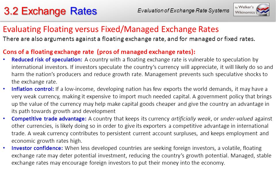what is floating exchange rate system