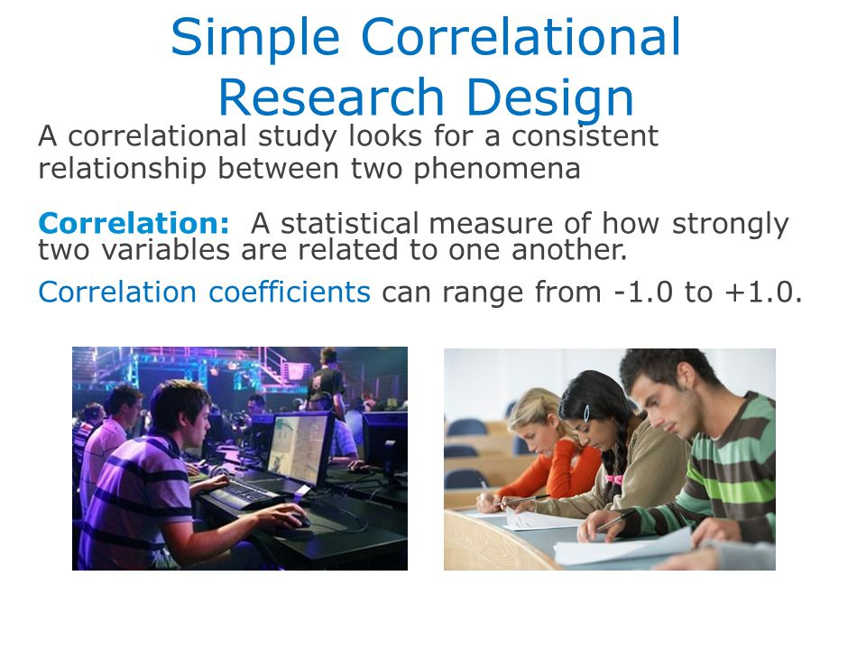 Simple Correlational Research Design
