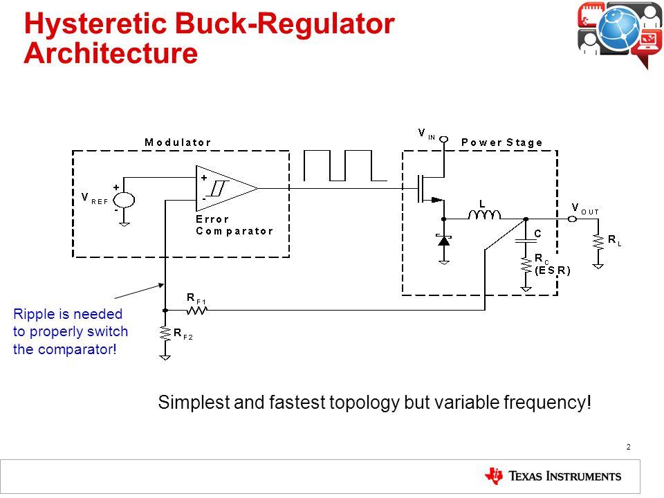 buck regulator architectures ppt video online downloadhysteretic buck regulator architecture