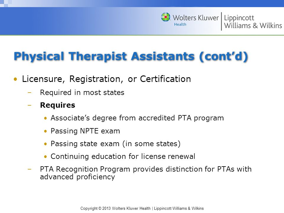 Chapter 8: Therapy and Rehabilitation - ppt video online download
