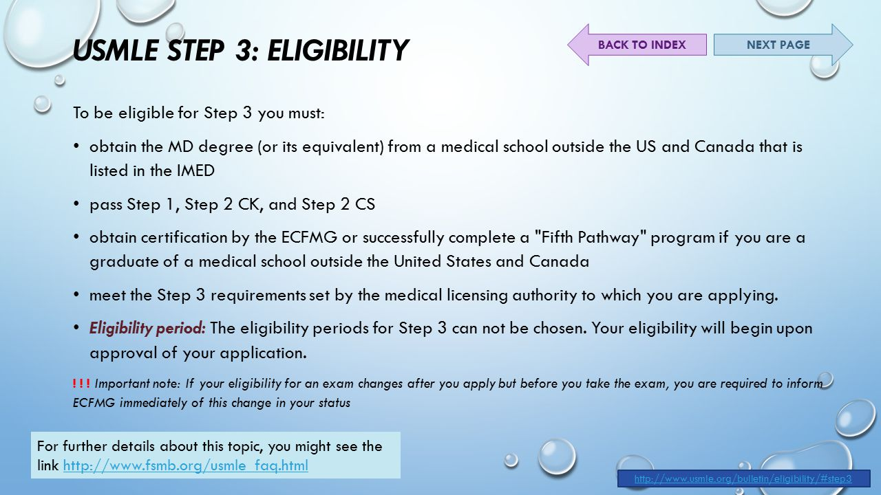 The United states Medical licensing examination USMLE - ppt download