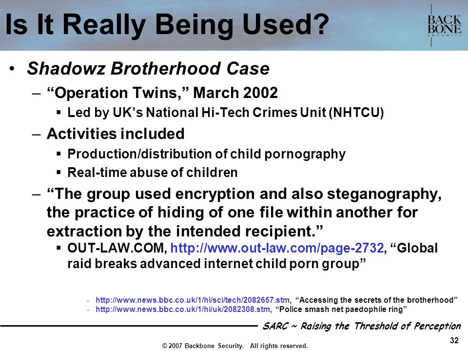 Is It Really Being Used Shadowz Brotherhood Case