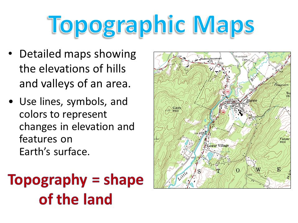 Standard 1 H Read And Interpret Topographic And Geologic Maps