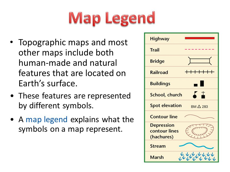 Standard 1h Read And Interpret Topographic And Geologic Maps