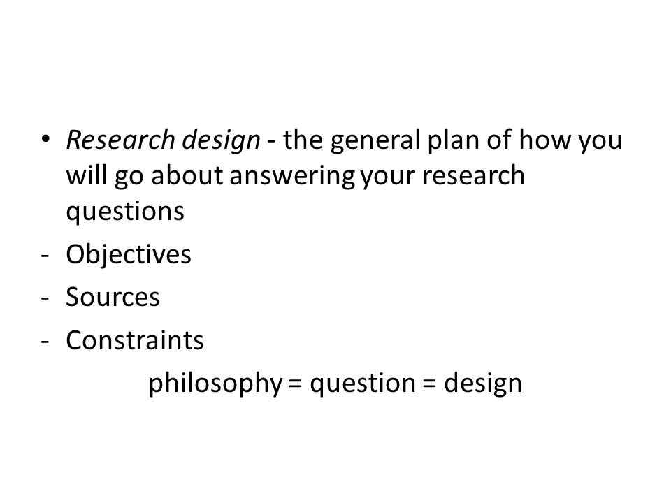 philosophy = question = design