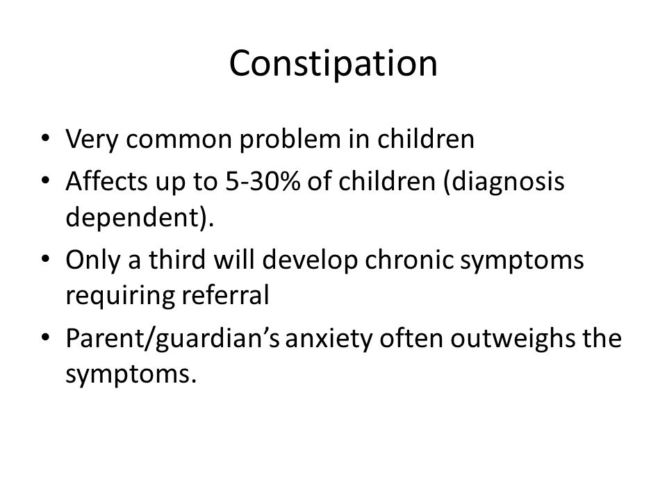 Constipation in Children - ppt download